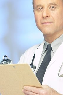 Health Doctor holding clipboard 6 - Health Insurance